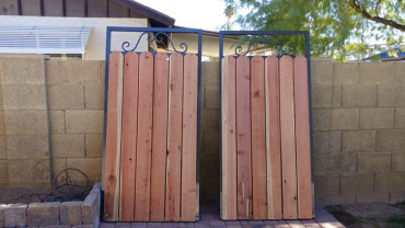 steel-wood-side-yard-gate